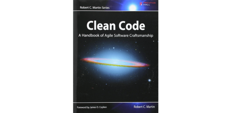 Image of book 'Clean code' by Robert C. Martin